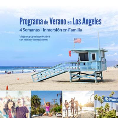 Verano en USA, Los Ángeles, inmersión en familia americana.