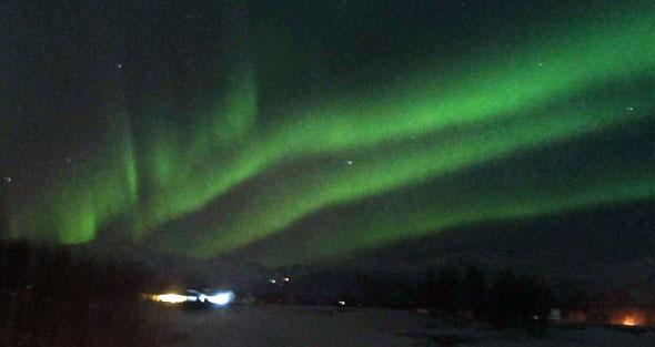Aurora Boreal fotografiada por Mario