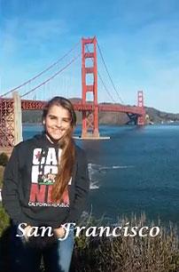 Laura, estudiante de intercambio ICES