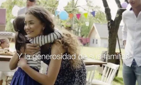 La generosidad de las familias americanas