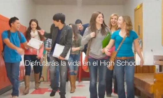 La vida del high school
