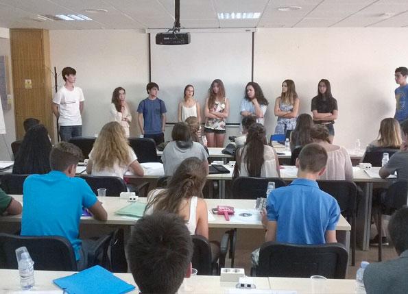 """Seminario ICES """"Pre-departure orientation"""" 2015"""
