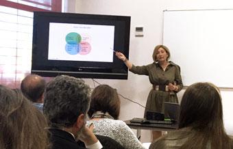 Carmen García Camarena, ponente del taller