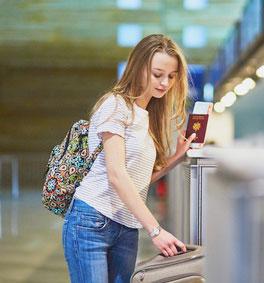 perdida-pasaporte estudiante intercambio en USA