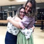 Laia, estudiante en USA con su host Sister