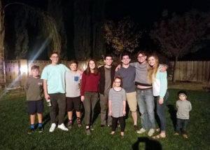 Joana Marucci con su host family