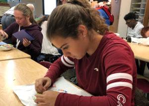 Marta. Estudiante de intercambio 2018