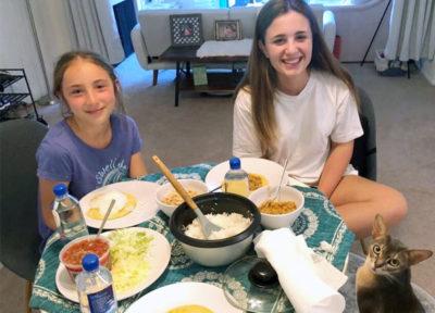 inmersión en inglés en familia en Estados Unidos