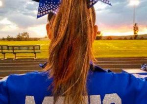 Berta de cheerleader en Craig, Colorado