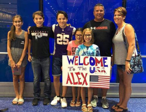 Alex – Llegada a Michigan