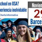 Información sobre estudiar en USA: Charla en Barcelona