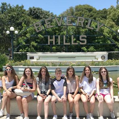 verano en USA, Los Ángeles, Beverly Hills