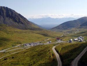 Paisaje de Alaska, verano