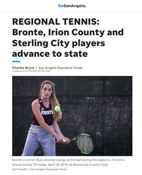 Deportes en USA, estudiante ICES triunfa en la liga de tenis
