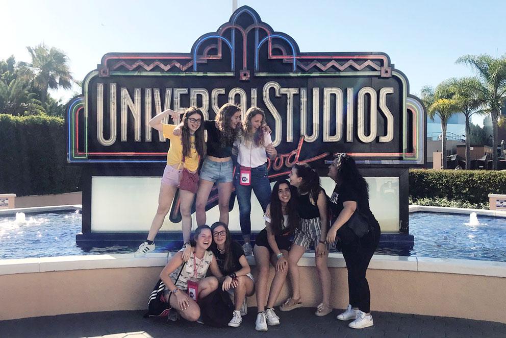 Estudiar en USA, visita a Estudios Universal