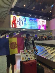 La llegada de Daniel a USA