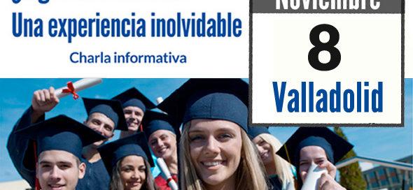 Charla informativa sobre estudiar en USA, Valladolid