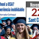 High School a USA? – Xerrada informativa a Sant Cugat