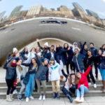 Viaje de Navidad de estudiantes de intercambio de Michigan y Minnesota