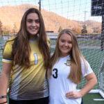 Berta, estudiante ICES triunfa en el equipo de fútbol de su high school