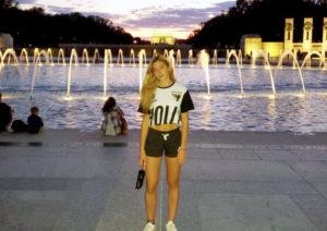 Sonia, estudiante de año escolar en USA con ICES