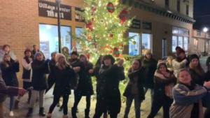 Baile en Navidad en USA
