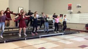 Clases de baile en el high school