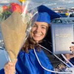 África Fernández, graduada Cum Laude tras su año escolar en USA
