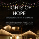 """Lights of Hope"", shine your lights for 30 extra days"