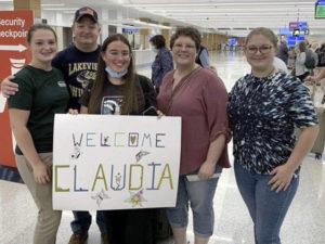 Bienvenida a Claudia