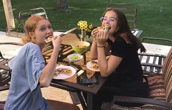 Sofía, año escolar en USA